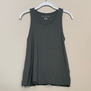 American Eagle Pocket Tank Top  |  Size XS